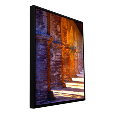 Brushstone Capistrano Gallery Wrapped Floater-Framed Canvas Wall Art
