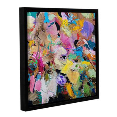 Brushstone Capri Gallery Wrapped Floater-Framed Canvas Wall Art