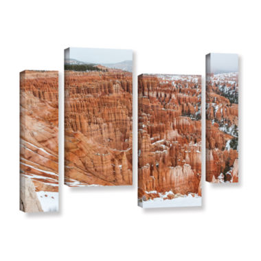 Brushstone Bryce Canyon 4-pc. Gallery Wrapped Staggered Canvas Wall Art