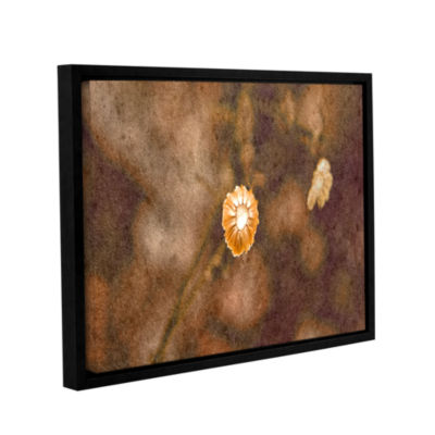 Brushstone Center Of Attention Gallery Wrapped Floater-Framed Canvas Wall Art