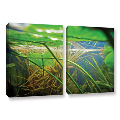 Brushstone Butler Lake #9 2-pc. Gallery Wrapped Canvas Wall Art