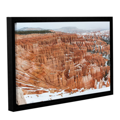 Brushstone Bryce Canyon Gallery Wrapped Floater-Framed Canvas Wall Art
