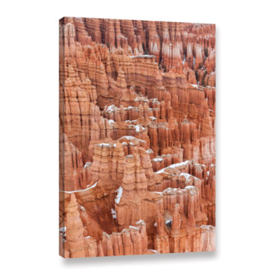 Brushstone Bryce Canyon Hoodoos Gallery Wrapped Canvas Wall Art
