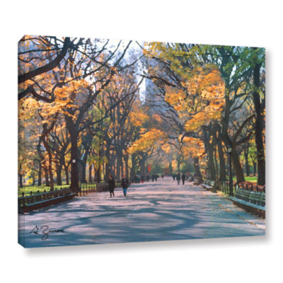 Brushstone Central Park Gallery Wrapped Canvas Wall Art