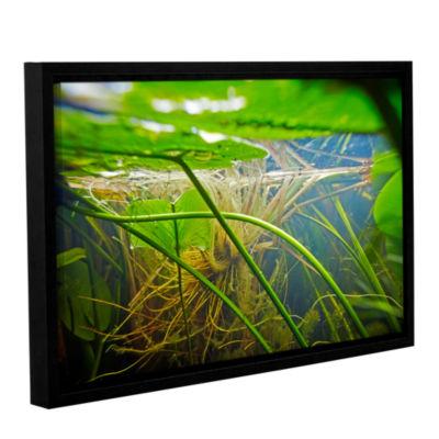Brushstone Butler Lake #9 Gallery Wrapped Floater-Framed Canvas Wall Art