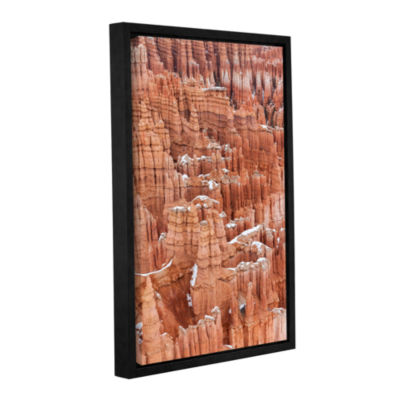 Brushstone Bryce Canyon Hoodoos Gallery Wrapped Floater-Framed Canvas Wall Art