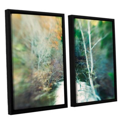Brushstone Calm River 2-pc. Floater Framed CanvasWall Art