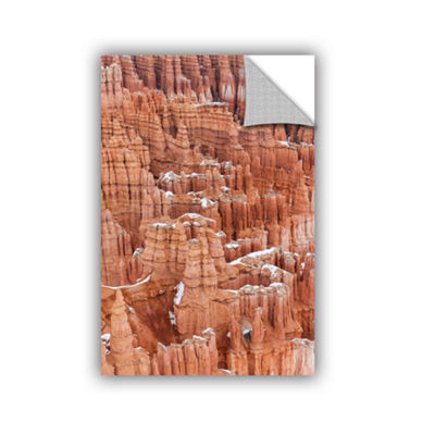Brushstone Bryce Canyon Hoodoos Removable Wall Decal