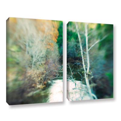 Brushstone Calm River 2-pc. Gallery Wrapped CanvasWall Art