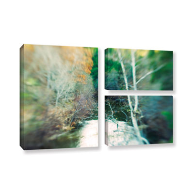Brushstone Calm River 3-pc. Flag Gallery Wrapped Canvas Wall Art