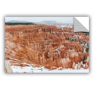 Brushstone Bryce Canyon Removable Wall Decal