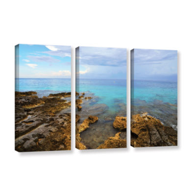 Brushstone Caribbean Dreams 3-pc. Gallery WrappedCanvas Wall Art