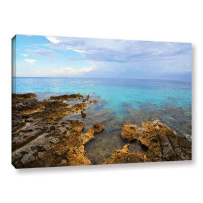 Brushstone Caribbean Dreams Gallery Wrapped CanvasWall Art