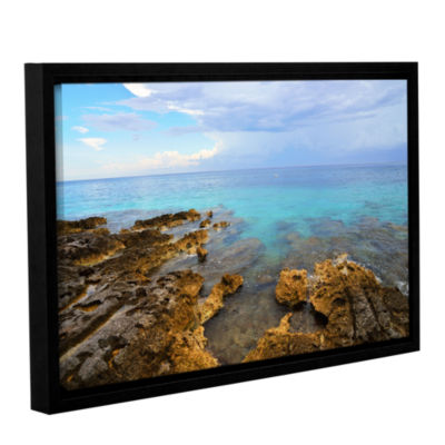 Brushstone Caribbean Dreams Gallery Wrapped Floater-Framed Canvas Wall Art