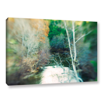 Brushstone Calm River Gallery Wrapped Canvas WallArt