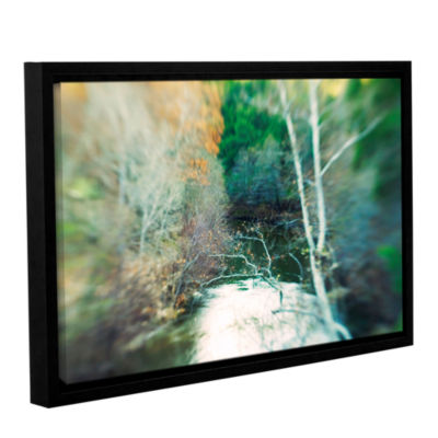 Brushstone Calm River Gallery Wrapped Floater-Framed Canvas Wall Art