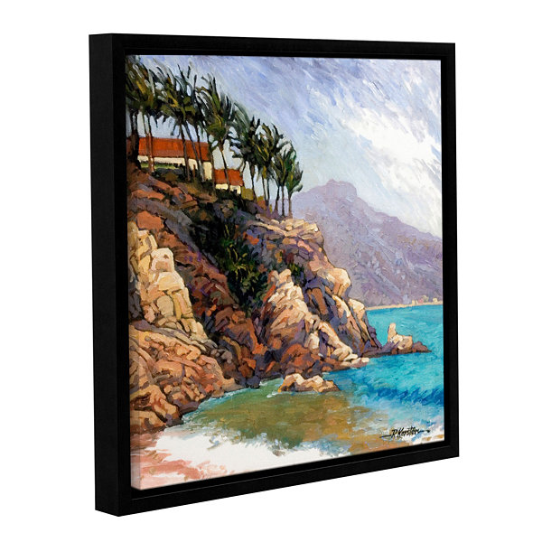 Brushstone Cabo San Lucas Gallery Wrapped Floater-Framed Canvas Wall Art