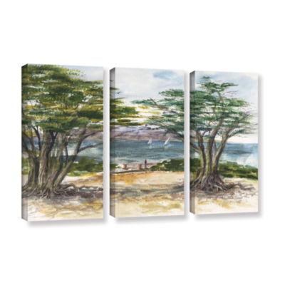 Brushstone Carmel By The Sea 3-pc. Gallery WrappedCanvas Wall Art