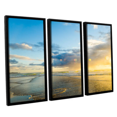 Brushstone Calmness 3-pc. Floater Framed Canvas Wall Art