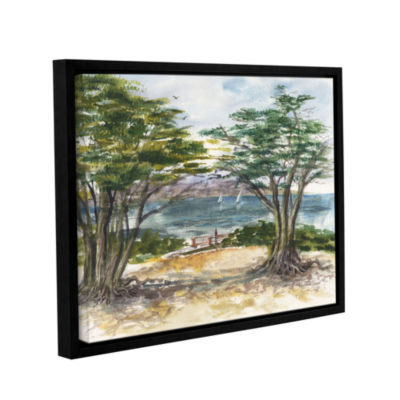 Brushstone Carmel By The Sea Gallery Wrapped Floater-Framed Canvas Wall Art