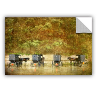 Brushstone Carriages Removable Wall Decal