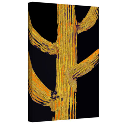 Brushstone Carrion Cactus Gallery Wrapped Canvas Wall Art