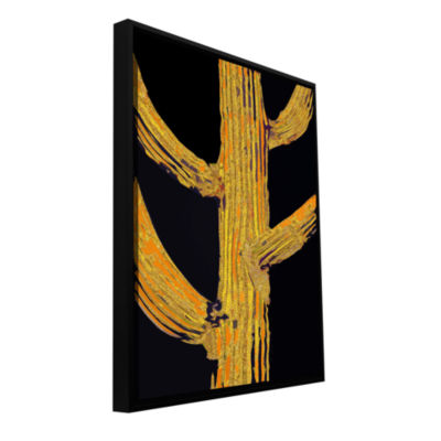 Brushstone Carrion Cactus Gallery Wrapped Floater-Framed Canvas Wall Art