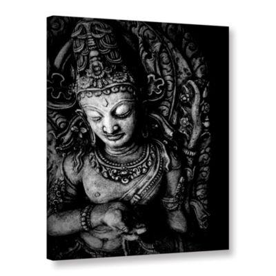 Brushstone Buddha Gallery Wrapped Canvas Wall Art