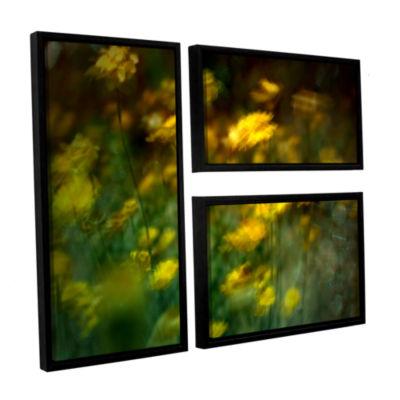 Brushstone Carry 3-pc. Flag Floater Framed CanvasWall Art