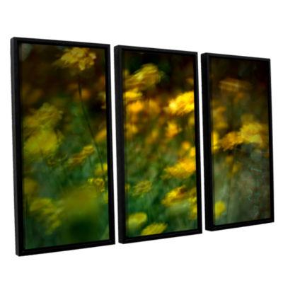 Brushstone Carry 3-pc. Floater Framed Canvas WallArt
