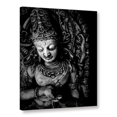 Brushstone Buddha Gallery Wrapped Canvas Wall Art