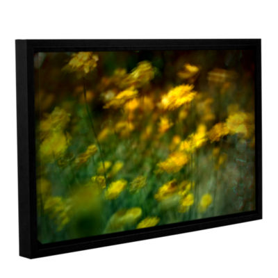Brushstone Carry Gallery Wrapped Floater-Framed Canvas Wall Art