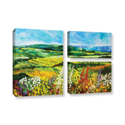 Brushstone Change Is In The Air 3-pc. Flag GalleryWrapped Canvas Wall Art