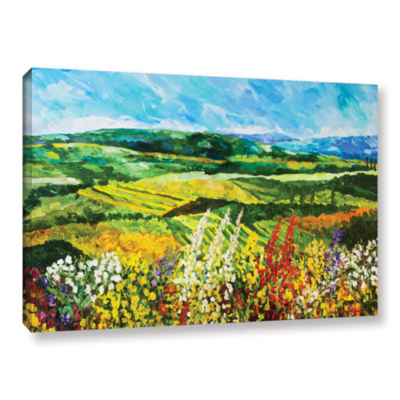 Brushstone Change Is In The Air Gallery Wrapped Canvas Wall Art