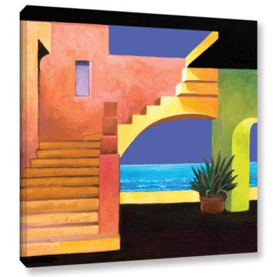 Brushstone Casa Del Mar Gallery Wrapped Canvas Wall Art