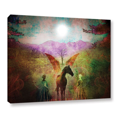 Brushstone Changing Illusions Gallery Wrapped Canvas Wall Art