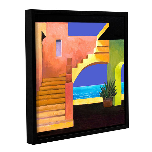 Brushstone Casa Del Mar Gallery Wrapped Floater-Framed Canvas Wall Art