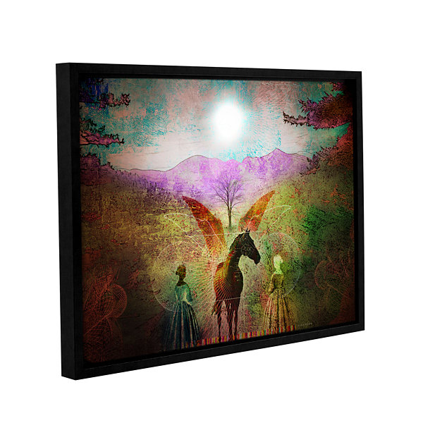 Brushstone Changing Illusions Gallery Wrapped Floater-Framed Canvas Wall Art