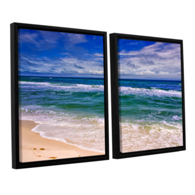 Brushstone Changing Tides 2-pc. Floater Framed Canvas Wall Art
