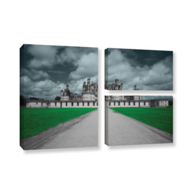 Brushstone Castle 3-pc. Flag Gallery Wrapped Canvas Wall Art