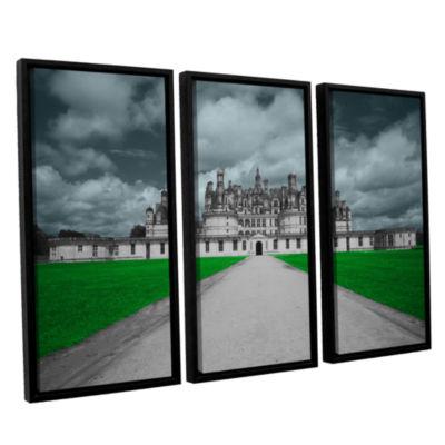 Brushstone Castle 3-pc. Floater Framed Canvas WallArt