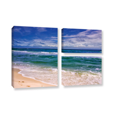 Brushstone Changing Tides 3-pc. Flag Gallery Wrapped Canvas Wall Art