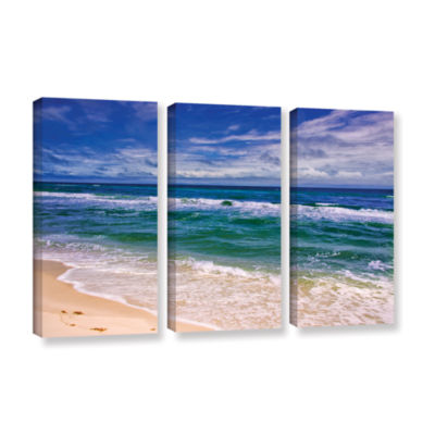 Brushstone Changing Tides 3-pc. Gallery Wrapped Canvas Wall Art