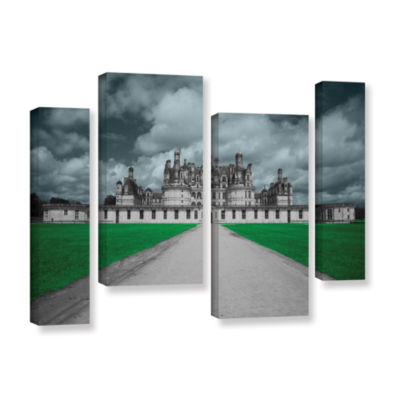 Brushstone Castle 4-pc. Gallery Wrapped StaggeredCanvas Wall Art