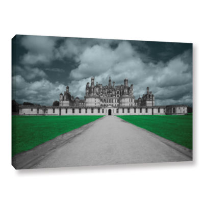 Brushstone Castle Gallery Wrapped Canvas Wall Art