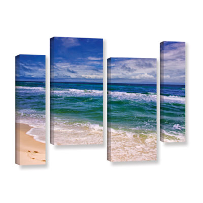Brushstone Changing Tides 4-pc. Gallery Wrapped Staggered Canvas Wall Art