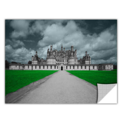 Brushstone Castle Removable Wall Decal