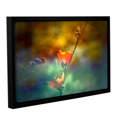 Brushstone Catch You Twice Gallery Wrapped Floater-Framed Canvas Wall Art