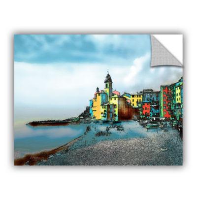 Brushstone Camogli; Italy Beachside Removable WallDecal