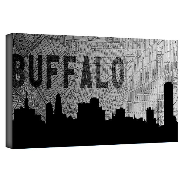 Brushstone Buffalo Gallery Wrapped Canvas Wall Art